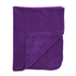 Dreamscene Luxurious Faux Fur Throw - Purple: Image 1