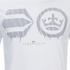 Crosshatch Men's Baseline T-Shirt - White: Image 4