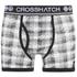 Lote de 2 bóxers Crosshatch Pixflix - Hombre - Gris: Image 2