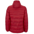 Crosshatch Men's Quilted Rabble Jacket - Samba Red: Image 2