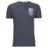Crosshatch Men's Formalhaut Back Print T-Shirt - Periscope: Image 1