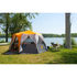 Coleman Cortes Octagon Tent (8 Person) - Grey/Orange: Image 4