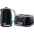 Breville Impressions Collection Kettle and Toaster Bundle - Black