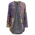 MINKPINK Women's Pepper and Splice Circular Kimono Cape - Multi: Image 1