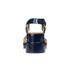 Jil Sander Navy Women's Heeled Sandals - Navy: Image 3