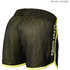 Better Bodies Women's Race Mesh Shorts - Black/Lime: Image 2