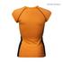 Better Bodies Women's Zipped T-Shirt - Orange: Image 2