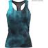 Better Bodies Women's Grunge T-Back Tank Top - Aqua Blue: Image 1