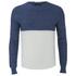 Scotch & Soda Men's Lightweight Sweatshirt - Navy/White: Image 1
