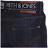 Smith & Jones Men's Furio Denim Jeans - Dark Wash: Image 4