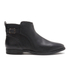 UGG Women's Demi Leather Flat Ankle Boots - Black: Image 1