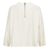 Ganni Women's White Tailor Blouse - Vanilla Ice: Image 2
