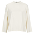 Ganni Women's White Tailor Blouse - Vanilla Ice: Image 1
