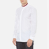 HUGO Men's Ewid Collar Detail Long Sleeve Shirt - White: Image 2