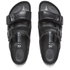 Birkenstock Women's Arizona Slim Fit Double Strap Sandals - Black: Image 2