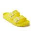Birkenstock Women's Arizona Slim Fit Double Strap Sandals - Neon Yellow: Image 3