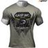 GASP Men's Rough Print T-Shirt - Wash Green: Image 1