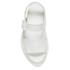 Dr. Martens Women's Shore Romi Petrol Leather Y Strap Sandals - White: Image 3