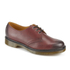 Dr. Martens Men's Core 1461 Antique Temperley Leather 3-Eye Derby Shoes - Cherry Red: Image 2
