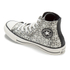 Converse Women's Chuck Taylor All Star Raffia Weave Hi-Top Trainers - Converse Natural/Parchment: Image 5