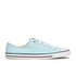 Converse Women's Chuck Taylor All Star Dainty Ox Trainers - Motel Pool/Black/White: Image 1