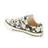 Converse Andy Warhol Chuck Taylor All Star Ox Trainers - Natural/Black: Image 4