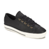 Converse Women's Chuck Taylor All Star High Line Craft Leather Flatform Ox Trainers - Black/White: Image 2
