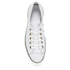 Converse Women's Chuck Taylor All Star High Line Craft Leather Flatform Ox Trainers - White/Egret: Image 3