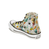 Converse Women's Chuck Taylor All Star Daisy Print Hi-Top Trainers - Black/Rebel Teal/White: Image 5
