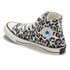 Converse Women's Chuck Taylor All Star Sketchbook Print Hi-Top Trainers - Natural/Roadtrip Blue: Image 5