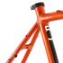Kinesis Crosslight 5T Disc Frameset - Sweet Orange