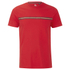 Luke 1977 Sport Men's Applique Stripe Detail Crew Neck T-Shirt - Marina Red: Image 1