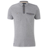 Threadbare Men's Harrisburg Coded Polo Shirt - Grey: Image 1