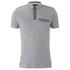 Threadbare Men's Harrisburg Coded Polo Shirt - Grey: Image 1