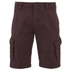 Threadbare Men's Hulk Cargo Shorts - Burgundy: Image 1