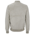 Threadbare Men's Milton Suedette Bomber Jacket - Stone: Image 2