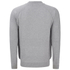 Threadbare Men's Tallinn Knitted Bomber Jacket - Grey Marl: Image 2