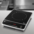 Swan SIH201 Touch Screen Induction Hob - Black: Image 2