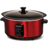 Morphy Richards 48702 Sear & Stew Slow Cooker - Red - 3.5L: Image 1