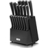 Tower T80702 19 Piece Knife Block - Black: Image 1