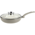 Tower IDT80028 Saute Pan with Infuser Glass Lid - Taupe - 28cm: Image 1