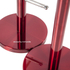 Morphy Richards 974029 Mug Tree & Towel Pole Set - Red: Image 2