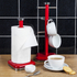 Swan SWKA1030RN Retro Mug Tree - Red: Image 2