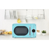 Daewoo KOR6N9RT Touch Control Microwave - Blue: Image 2