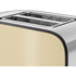 Swan ST17020CREN 2 Slice Toaster - Cream: Image 3