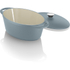 Tower IDT90003 Cast Iron Oval Casserole Dish - Blue - 29cm: Image 2