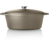 Tower IDT90004 Cast Iron Oval Casserole Dish - Latte - 29cm: Image 4