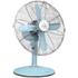 Swan SFA1010BLN Retro Desk Fan - Blue - 12 Inch: Image 1