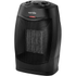 Warmlite WL44005 Ceramic Fan Heater - Black - 1500W: Image 1