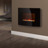 Warmlite WL45022 Curved Glass Wall Fire - Black: Image 4